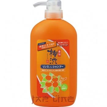 Японский шампунь - кондиционер 2в1 против перхоти с экстрактами хурмы и лекарственных трав KAKiSHIBU в ассортименте