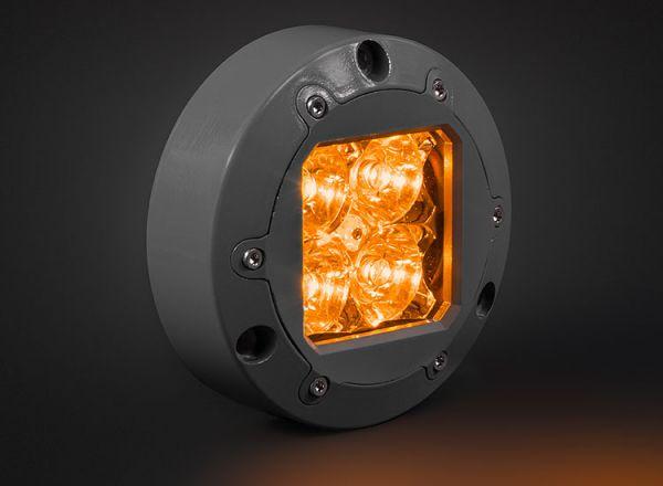 Cветодиодная фара Prolight Subaqua: XIL-U40A янтарный свет