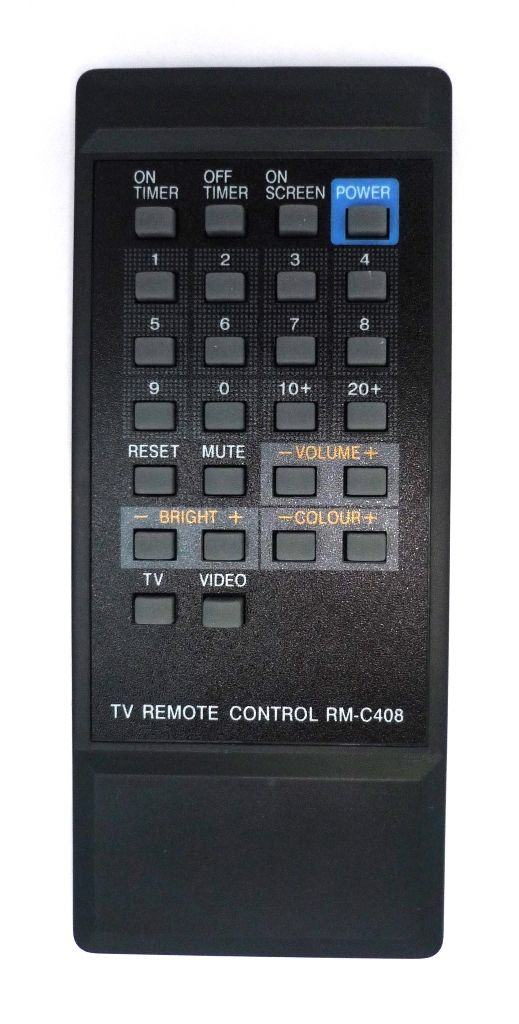 JVC RM-C408 TV (без VCR) (C-140EE, C-140HM, C-1480EE, C-1480EG, C-1480M, C-210EE, C-211EE, C-2180EE)