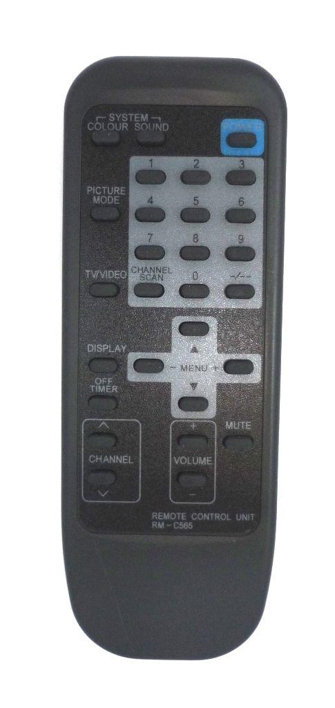 JVC RM-C565 (TV) (210T,TR, AV-1410EE, AV-1411TEE, AV-1430TEE, AV-1431TEE, AV-1433TEE, AV-14A10, AV-14K, AV-14T, AV-2110EE, AV-2111TEE, AV-2113EE, AV-2114EE, AV-2124EE, AV-2130TEE, AV-2131TEE)