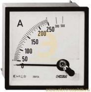 Шкала к амперметру AMT 1/A1 на 250А