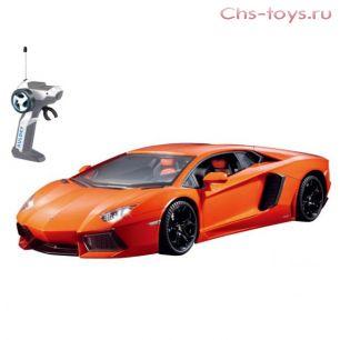 Р/у 1:28 LAMBORGHINI Aventador LC296050-4 Машина на батарейках, в коробке AULDEY