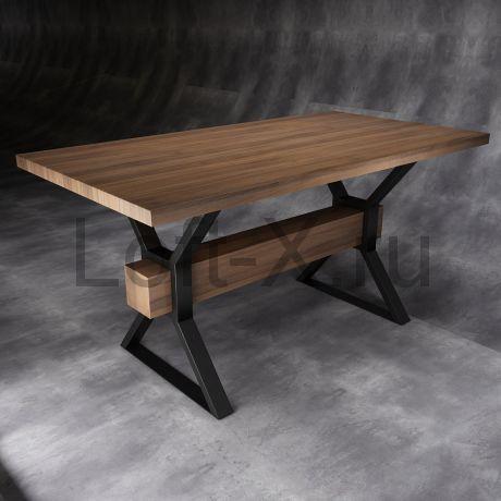 """Обеденный стол  - """"Sandglass"""" с дубовой столешницей."""