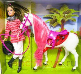Игровой набор кукла Betty Horse (наездница) с лошадью