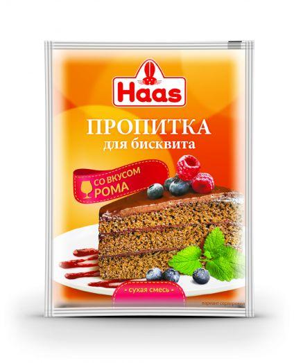 ХААС Смесь для пропитки бисквита вкус РОМА 80 г