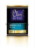 Clan De File консервы для собак (с гусем)
