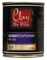 Clan De File консервы для кошек (с кроликом)
