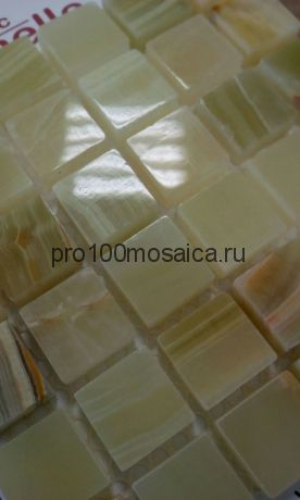 Onice Jade Verde 15 x15 Мозаика серия Pietrine Stone, размер, мм: 305*305 (Caramelle)