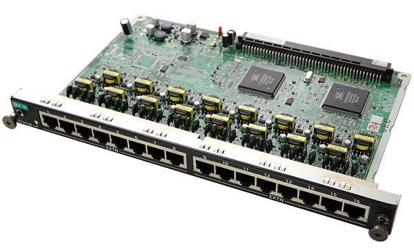 Карта Panasonic KX-NCP1172XJ (Цифровая плата на 16 цифровых портов) б/у