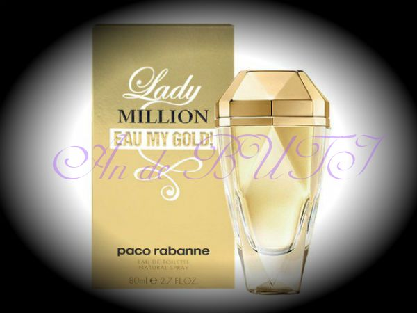 Paco Rabanne Lady Million Eau My Gold! 80 ml edt
