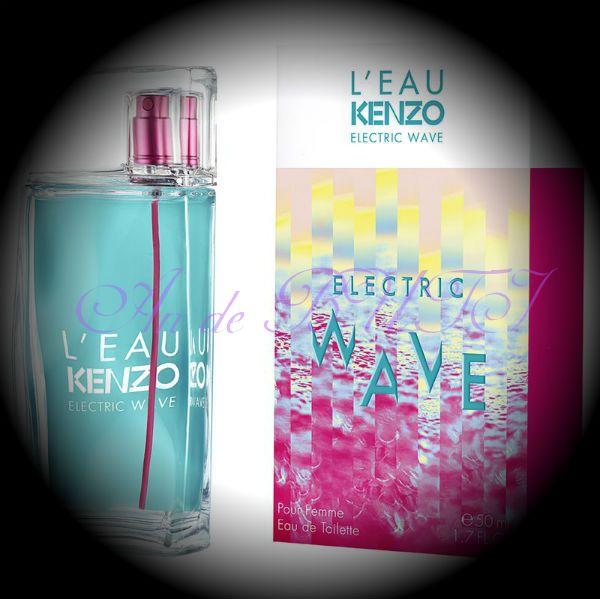 Kenzo L'Eau par Kenzo Electric Wave pour Femme 100 ml edt