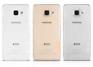 Накладка Samsung A310F Galaxy A3 (2016) силикон (yellow)