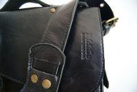 BUFALO LB04 BLACK чёрный кожаный портфель