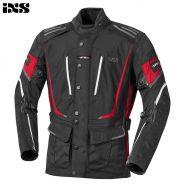Куртка текстильная IXS Powell, Черно-красная