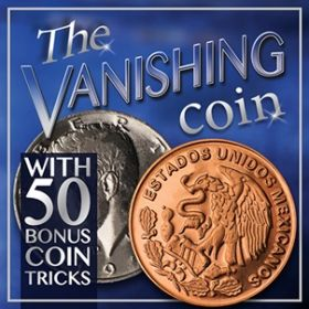 The Vanishing Coin - Ultimate Coin Magic Kit (Professional Scotch & Soda)