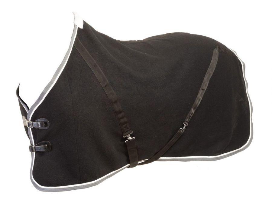 """Шерстяная попона """"Horse Comfort LUX""""  Плотность 800 гр. С липучками на груди"""