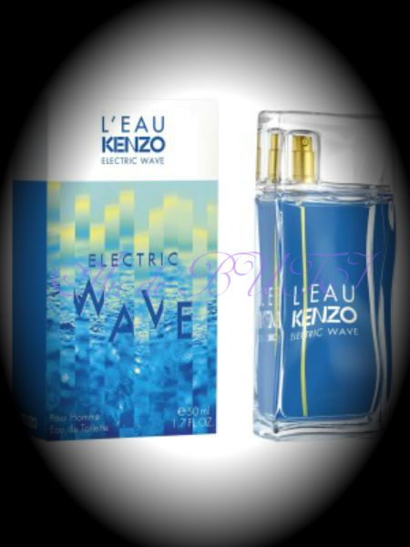 Kenzo L'Eau par Kenzo Electric Wave pour Homme 100 ml edt