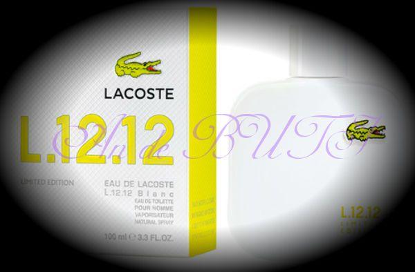 Lacoste Eau de Lacoste L.12.12 Blanc Limited Edition 100 ml edt