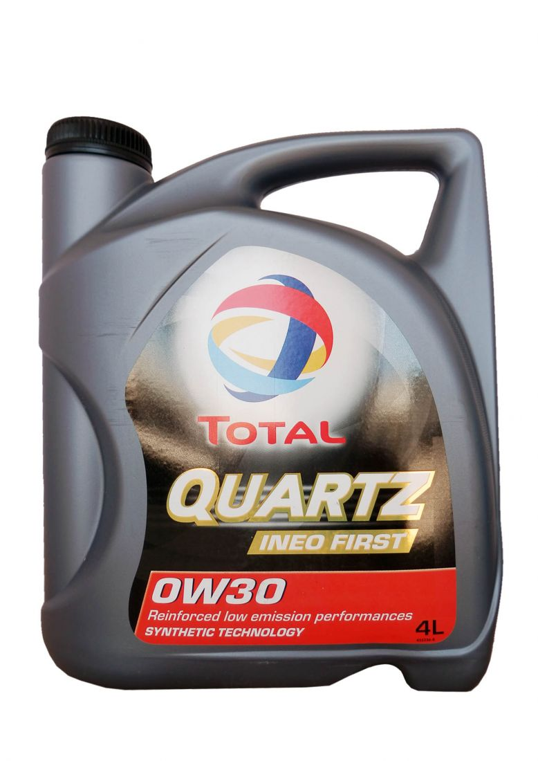 Моторное масло TOTAL Quartz Ineo First SAE 0W-30 (4л)