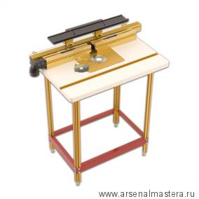Фрезерный стол M-RT COMBO 4 (столешница 24x32дюйм, параллельный позиционер и упор Wonder Fence) INCRA