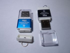 Кардридер microSD + M2