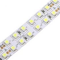 Белая светодиодная лента 120LED / метр (5050)