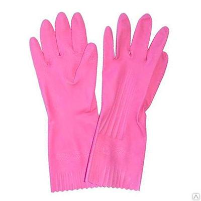 Хозяйственные удлиненные латексные перчатки Люкс для хозяйственных нужд