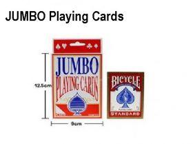 Карты Jumbo 12,5 х 9 см (пластик)