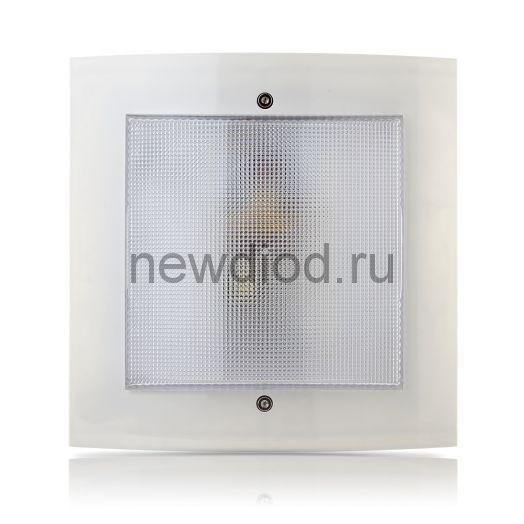 """Домовой светильник """"Интеллект-ЖКХ"""" IP54 12Вт серый"""