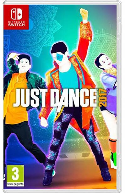 Игра just dance 2017 (nintendo switch)