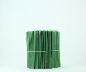 Свечи церковные восковые (Зелёные) № 100, 2 кг. Длина 16,5 см, диаметр 5,5 мм. 500 штук/пачка