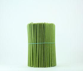 Свечи церковные восковые (Зелёные) № 60, 2 кг. Длина 20 см, диаметр 6,8мм. 300 штук/пачка