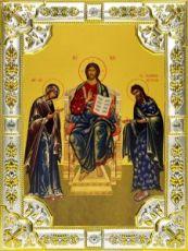Царь Царем (18х24), серебро
