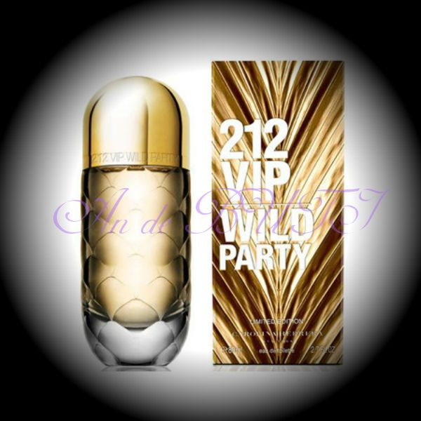 Carolina Herrera 212 VIP Wild Party 80 ml edt