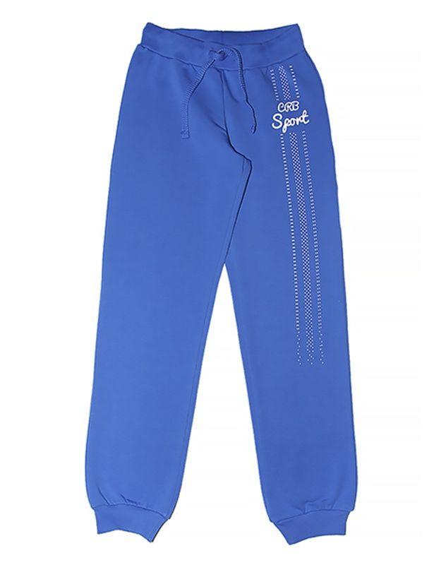 Синие брюки для девочки Черубино