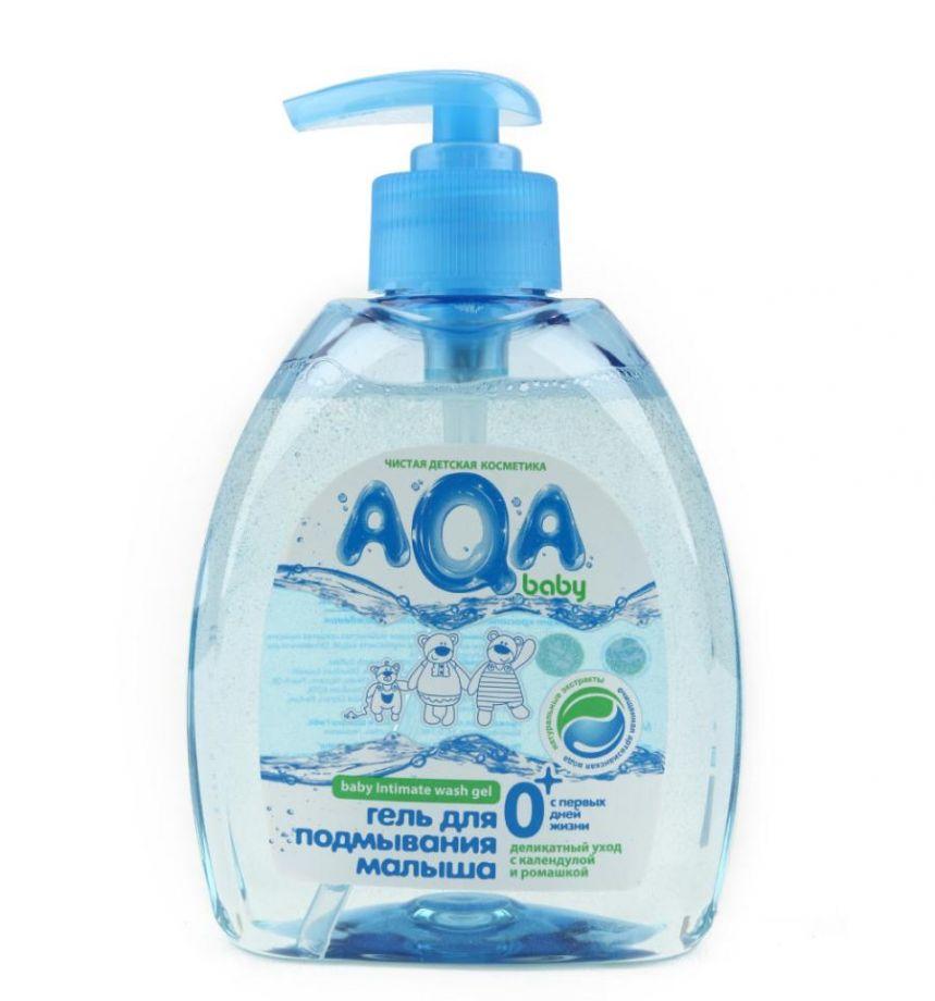 AQA baby Гель для подмывания малыша, 300 мл.