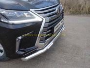Рамка под номер нержавеющая сталь для Lexus LX