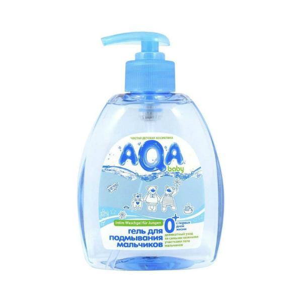 AQA baby Средство для подмывания мальчиков, 300 мл.