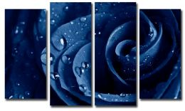 Синяя роза (размер M)