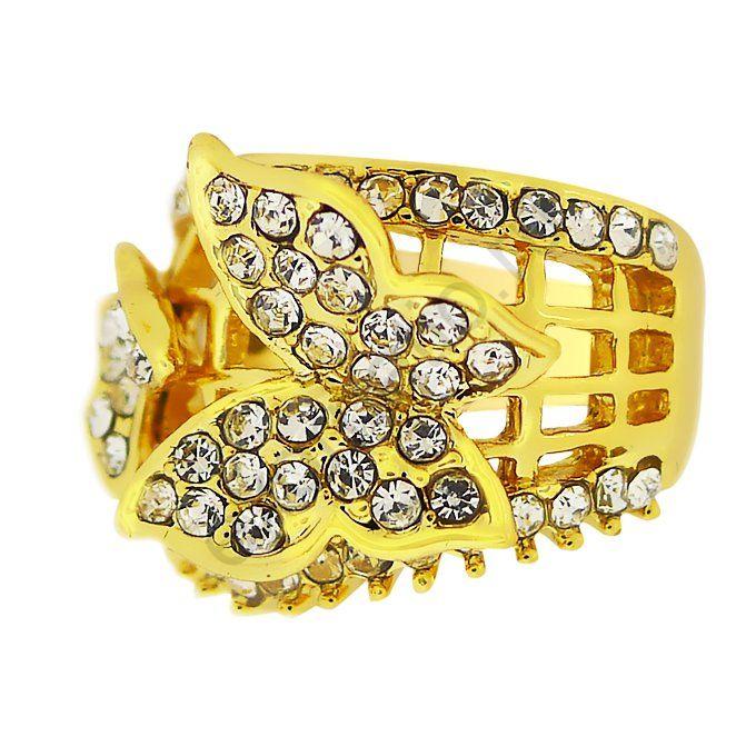 Кольцо Noir Jewelry 37455-9529. Кольцо Бабочки