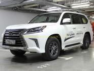 Защита штатного порога 53 мм для Lexus LX 2015-