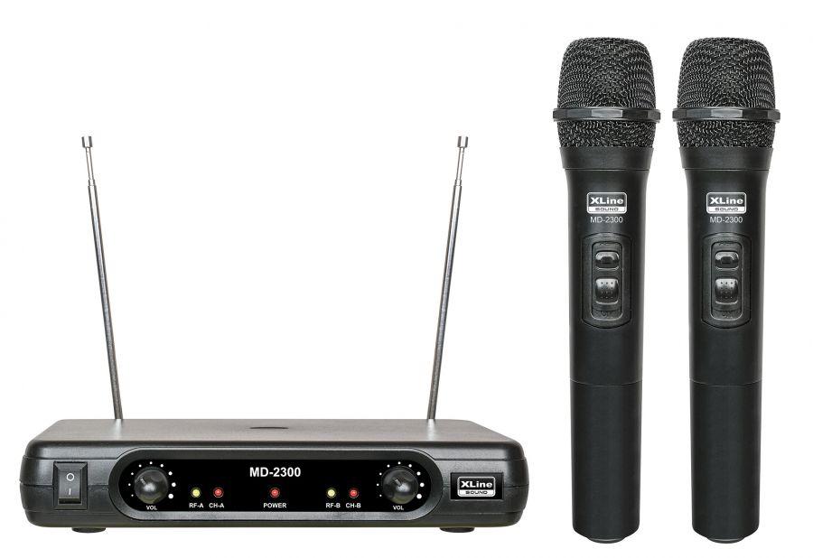 XLINE MD2300 Радиосистема 2 микрофона