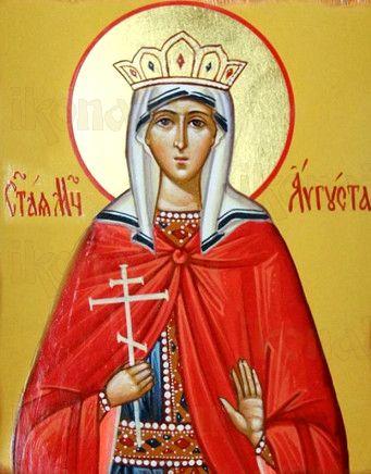 Августа Римская (рукописная икона)