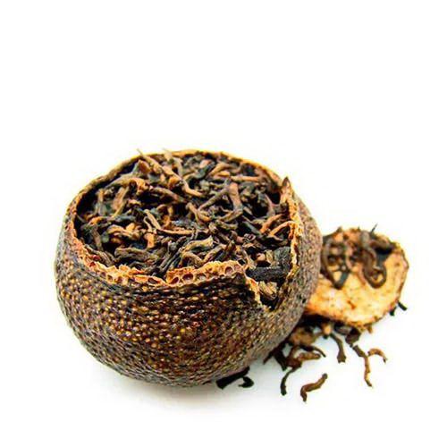 Пуэр в мандарине (Шу Юннань) - элитный чай пуэр