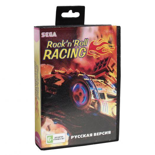 Sega картридж ROCK'N ROLL RACING