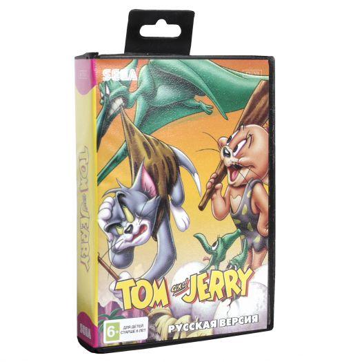 Sega картридж TOM & JERRY
