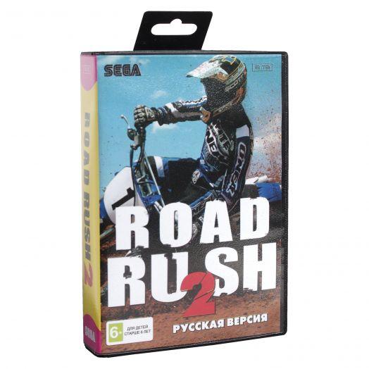 Sega картридж ROAD RASH 2