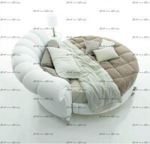 Кровать круглая Амстердам 1095.