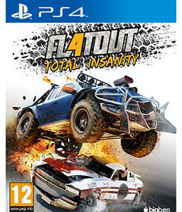 Игра Flatout Total Insanity (PS4)