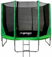Батут Optifit Jump 12 FT Зеленый